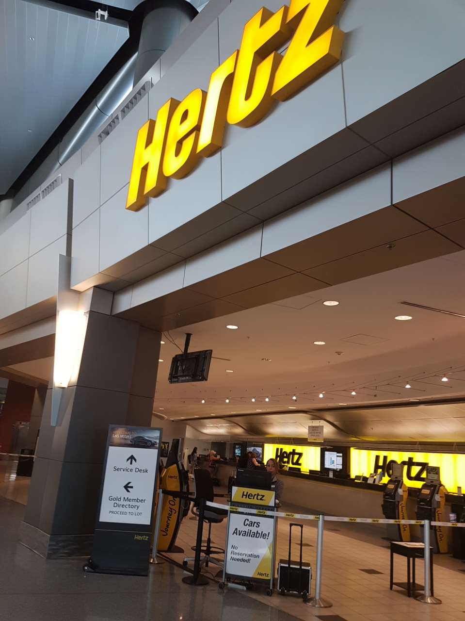 Hertz rental car las vegas nevada mccarran airport