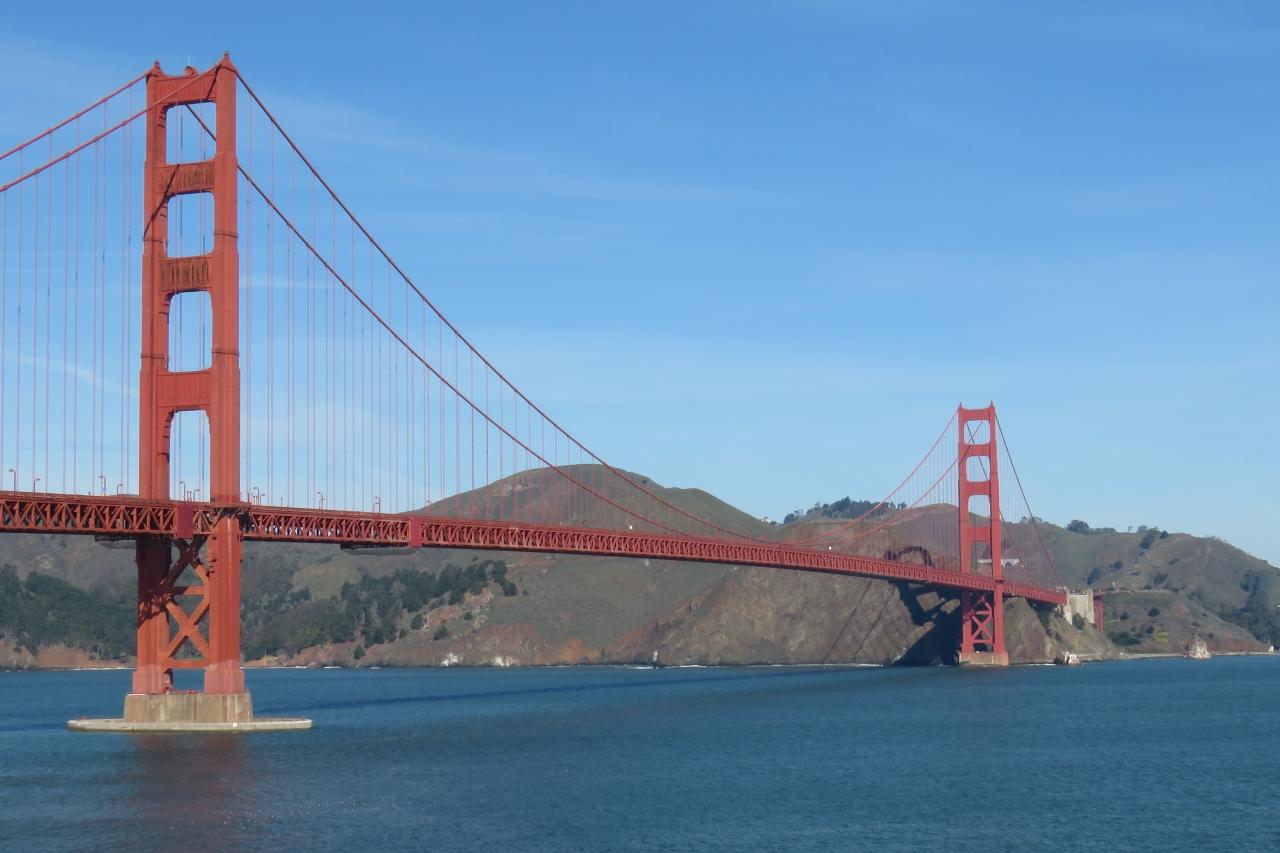 ゴールデン ゲート ブリッジ クチコミガイド【フォートラベル】 Golden Gate Bridge サンフランシスコ