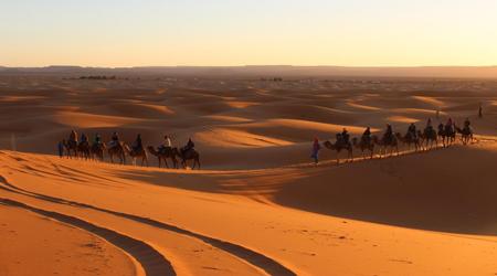 モロッコ� サハラ砂漠へ