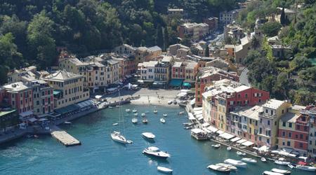 旅する貧乏ガードマン今度のお題はイタリア、題して「チンクエテッレと周辺リゾートそしてヴェネチアに行ってみた」イタリアンリゾート、ポルトフィーノ サンタマルゲリータポルトヴェーネレに行ってみた。