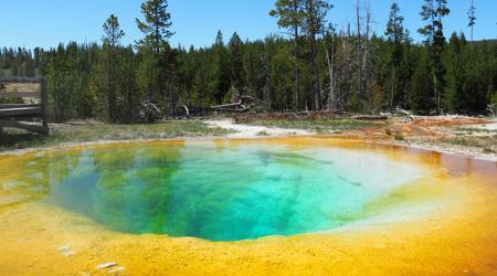 アメリカ国立公園ツアー1・・・5/25-26 イエローストーン国立公園