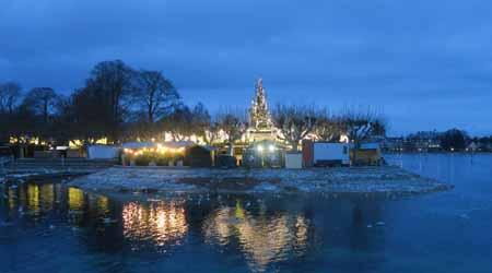 2018. 湖に浮かぶクリスマスマーケット。.:*☆ コンスタンツ