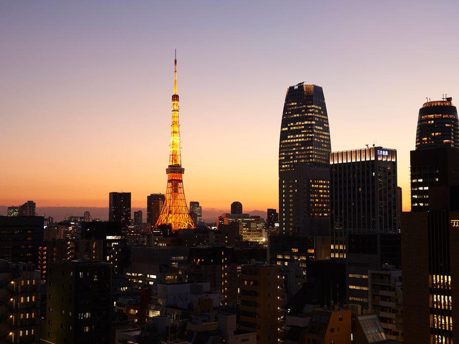【東京タワービュー確約】カップルプラン・レイトアウト12時