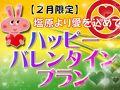 【1日10室】2月限定★ハッピーバレンタインプラン★3大特典