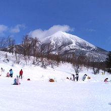 冒険王国で雪遊び!