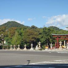 重要文化財・日本三大木造大鳥居の気比神宮(*^_^*)。
