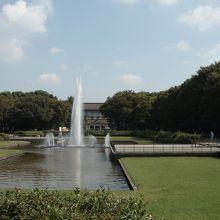 50年前の大噴水の老朽化で新たな噴水テラスと生まれ変わりました、上野公園が好き!の巻