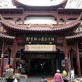 写真:青島市即墨路小商品市場