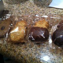 色んな種類のクッキー
