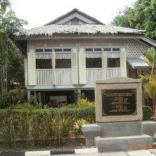 マハティール元首相の家です。
