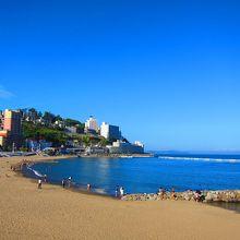 熱海の絶景ビーチでした。