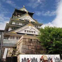 大阪での唯一の城
