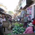 写真:クラチエ市場
