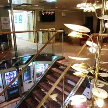 階段付近の様子