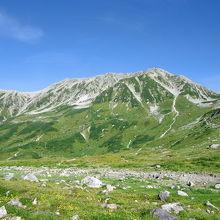 美しく気高い山