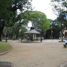 Luz駅の近くの公園