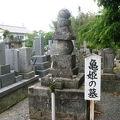 写真:亀姫の墓