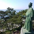 写真:坂本龍馬銅像