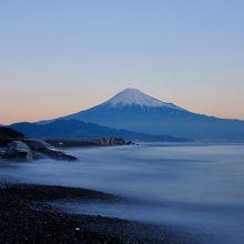 三保の松原から観る富士山