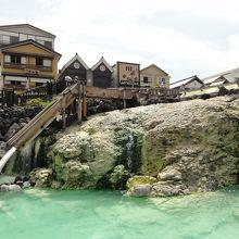 草津温泉の中心