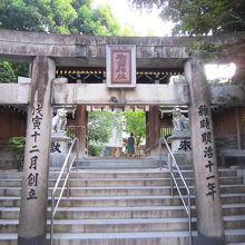 山笠で有名な神社