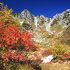 紅葉シーズンは燃えるような木々に感動できる千畳敷カール