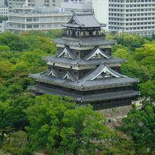 毛利輝元公が築城した広島城