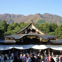 彌彦神社は、越後国一宮