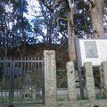 写真:北条実時の墓