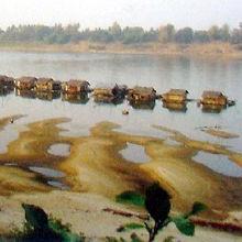 カンボジアでも実際の水上生活者は居なくなりつつある
