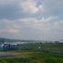 住宅街の中の空港