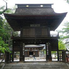 1330年に開かれた信玄公の菩提寺