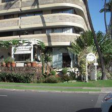 ホテルの一角です。