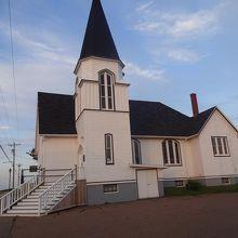 教会は昔のではないようだ。