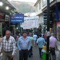 写真:バザール街