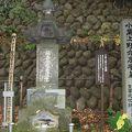 写真:小栗上野介忠順の墓