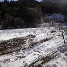 冬は静かです