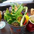 写真:島野菜カフェ Re:Hellow BEACH