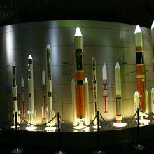 ロケットの模型いろいろ
