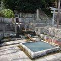 写真:清水霊泉 (唐櫃の清水)