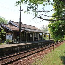 北条鉄道法華口駅