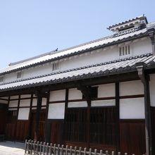 江戸時代の豪商のお屋敷