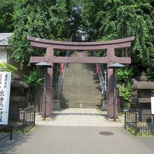 ひっそりとした良い雰囲気の神社です