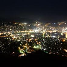 新・世界三大夜景。混雑します