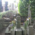 写真:支倉常長の墓