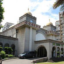 台北の貴重なモスク