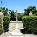 写真:宮水発祥之地の碑