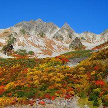 上高地から一泊二日で涸沢の紅葉を満喫