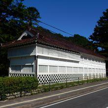 津和野城にも櫓が残っているのですよ! 馬場先櫓です。