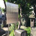 写真:柴田是真の墓
